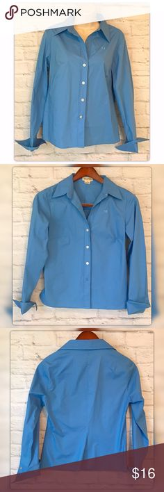 """Michael Kors Royal Blue Button Down Sz 8 Blouse Michael Kors Royal Blue Button Down Sz 8 Blouse. Pit to pit measures 19"""" Length 24"""" 97% 3% Spandex. Gently used with no flaws Michael Kors Tops Blouses"""