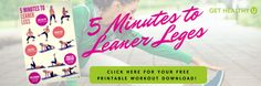 5 Minutes To Leaner Legs