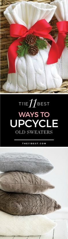 The 11 Best Ways to Upcycle Old Sweaters