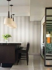 671-68503 Amalfi Linen Stripe Wallpaper