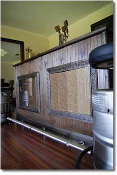 DIY home brewing bar