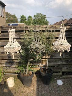 Crochet Lampshade, Pendant Chandelier, Lamp Shades, Diwali, Doilies, Plant Hanger, Fiber Art, Light Up, Lanterns