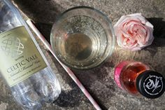 Rose Syrup and Mineral Water