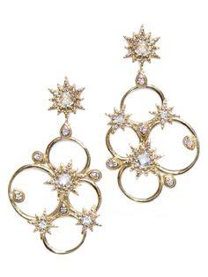 Nora Kogan - Diamond Matchstick Earrings | wear | Pinterest ...