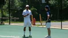 Tennis Tips: Working the Wall - YouTube