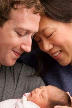 Facebookのザッカーバーグ氏に第1子が誕生 保有する自社株99%を慈善事業に寄付