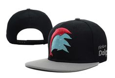 Pink Dolphin Snapback Hat 09