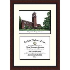Campus Images NCAA Washington State University Legacy Scholar Diploma Picture Frame