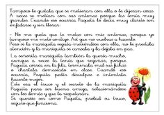 Cuento la mariquita Paquita | cuentosinfantiles. Words, Ladybugs, Reading