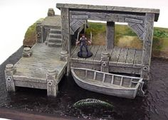 N Scale Model Trains, Scale Models, Hirst Arts, Shop Buildings, Try Your Best, Wargaming Terrain, Side Plank, Brown Paint, Miniature Crafts