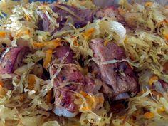 Żeberka pieczone w kapuście - Blog z apetytem