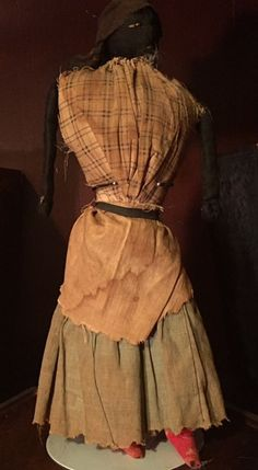 """Photograph of fabric doll, circa 1830, Richmond, Virginia. Photo courtesy of Stokes family. """"African American history is deeply entwined with the history of slavery, but there are too few publications that present the stories of persons of color who..."""