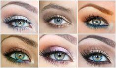 Maquillage spécials yeux bleus gris  Maquillage  Beauté  Bien être