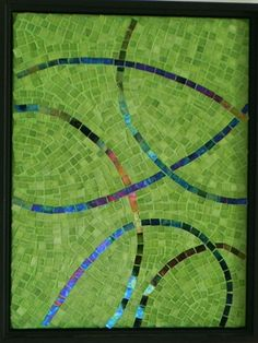 One by Suzanne Steeves ~ Maplestone Gallery  ~  Contemporary Mosaic Art