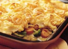 Shepherd's Pie (Vegetarian) - add some garbanzo or other beans.