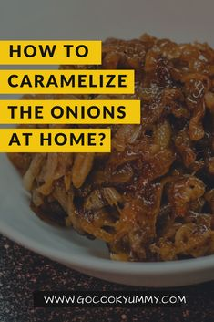The best and easy way to caramelize the onions at home. The most delicious recipe of caramelized onions using balsamic glaze. Perfect dip to use for tasty burgers, sandwiches, pizza, taco and more. Best Brunch Recipes, Best Appetizer Recipes, Best Appetizers, Lunch Recipes, Easy Tart Recipes, Vegetarian Recipes Easy, Side Dish Recipes, Free Recipes, Caramelized Onions Recipe