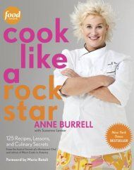 Cook Like A Rock Star: 125 Recipes, Lessons, And Culinary Secrets by Anne Burrell & Suzanne Lenzer ebook deal