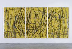 Arturo Herrera Come / SP, 2008 Collage, mixed media on paper 3 parts:82 x 56.625 inches (208.5 x 144 cm), each part VIA MORE