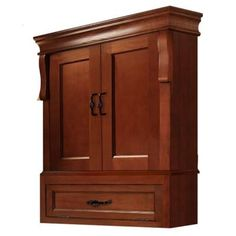 Foremost Naples 26-1/2 in. W Wall Cabinet in Warm Cinnamon-NACO2633 - The Home Depot