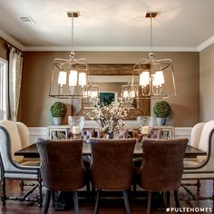 The Perfect Dining Room For Having Friends Over Dinner Drinks Pulte Homes
