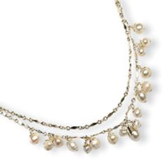 Sterling Silver White Freshwater Cultured Pearl Necklace