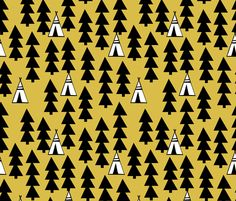 ©  Copyright  Andrea Lauren -  You are permitted to sell items you make with this fabric, but request you credit Andrea Lauren as the designer. Coordinates: Solids -- Warm, Solids - Cool, Dots  View other Tee Pee collection designs here