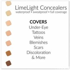 Please visit my link https://limelightbyalcone.com/chrissyfarr to visit and purchase these amazing products! LimeLight products are made with natural and certified organic ingredients, are non-comedogenic, contain no synthetic fragrance or colors, no parabens or pthalates, no sodium lauryl sulfate (SLS) and have never been tested on animals. Almost all of the products are gluten free (except the cleansers) and mostly vegan (the body creams contain beeswax).
