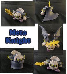 Meta Knight Sculpture: Collage by ClayPita on DeviantArt