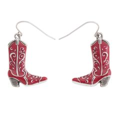 Cowgirl 2 Pack-Scarlet Drop Earrings cowgirl boots,  https://myfashions.graceadele.us/GraceAdele/Buy/ProductDetails/22220
