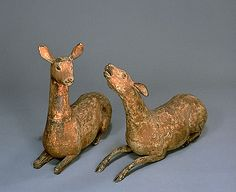 Sacred Deer , Kamakura Period (13th Century)  Important Cultural Property…