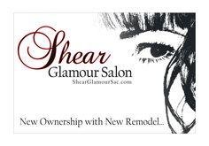 ezeeye Graphic Design & Branding Sheer Glamour Salons @ http://shearglamoursac.com by www.ezeeye.com