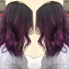 "226 Likes, 12 Comments - Salon 202 (@salon202) on Instagram: ""Purple Colormelt by 