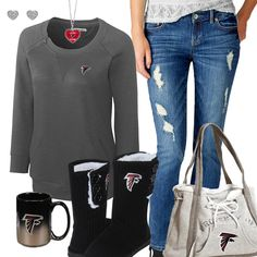Atlanta Falcons Fashion - Cozy Falcons Sunday Falcons Game a1e58697e