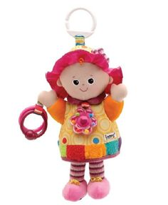 Lamaze My Friend Emily - www.totswarehouse.com Lamaze My Friend Emily is the perfect 1st doll for any little girl.      She has a lovely rattle necklace and clanking rings.      Lots of different textures to touch and explore.      Bright colours and high-contrast patterns.       Suitable from birth  My Friend Emily Doll is perfect for baby's first doll! Complete with rattle necklace, rings, interesting textures and sounds too.  #baby #lamaze #doll