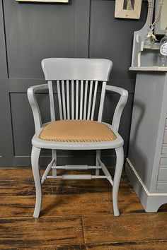 Delicieux Led Furniture, Shabby Chic Furniture, Vintage Furniture, Wood Desk, Desk  Chairs, Rocking Chair, Paint Colours, Upholstered Chairs, Wooden Table Top