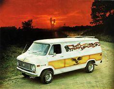 70s Custom Van