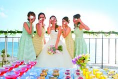 OKINAWA WEDDING wedding reception #WATABE WEDDING