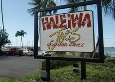 Haleiwa Joe's on the North Shore of Oahu, HI