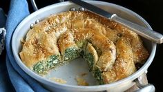 Spinach, Feta Filo Pie: Neven Maguire