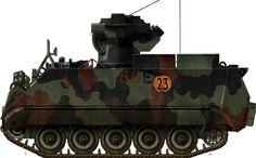 Canadian M13A2 TUA, 22th regiment, 4th Mechanized Brigade