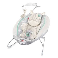 Product Image for Fisher-Price® Deluxe Bouncer in Safari Dreams 1 out of 3