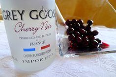 Accent your GREY GOOSE® Cherry Noir cocktail with Brandied Cherries.