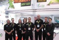 The Harwin Team at Electronica.. Looking smart, as always!