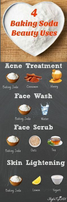 Baking Soda Beauty Uses