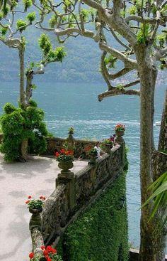 Villa del Balbaniello, Lenno, Como Lombardy Italy
