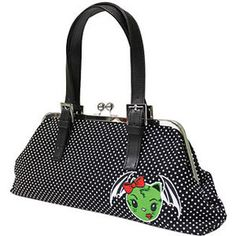 sourpuss clothing handbags zombie bat purse in purses ...