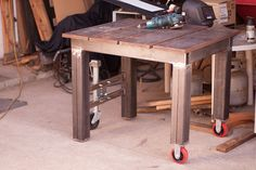 Welding table build thread. Yes another welding table!