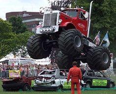 ----> Want more? Follow me at http://www.pinterest.com/TruckSchoolInfo/ #Tractor #Monster #truck