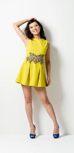 ネオンカラーショートドレス