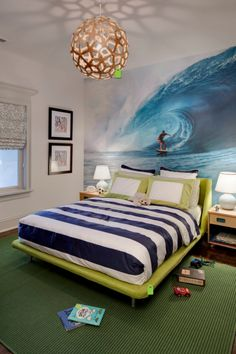 Some cool ideas for your teen's room! Use discount code: EAZYFIRST for a first time 10% purchase discount! #eazywallz #room #wall #home #decor #mural #wallpaper